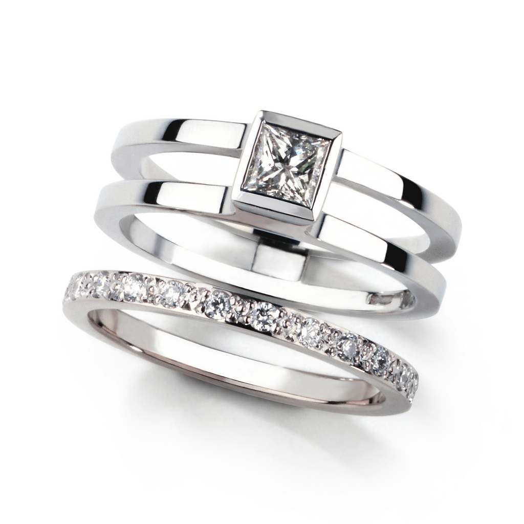 The Matching Wedding Rings Wedding Ideas And Wedding