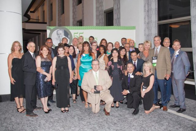 Pearle Vision franchisees - group at a Pearle Vision annual summit