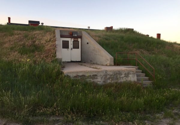 A bunker! Warren AFB houses 150 Minuteman III missiles -- just not in places that are this easily accessible!
