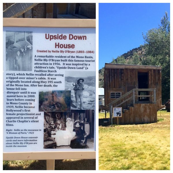 ... and Nellie Bly's upside down house.