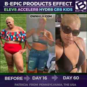 slimming progress with bepic pills (result of Patricia Wright from USA)