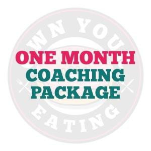 One Month Coaching Package