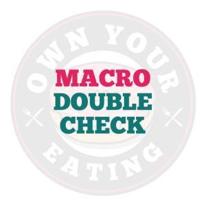 Macro Double Check, Macro Calculator