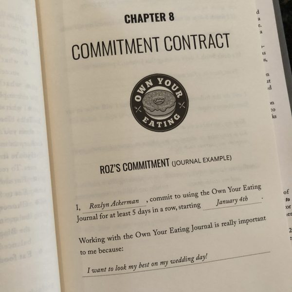 Own Your Eating Commitment Contract