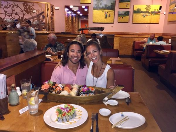 Jay & Roz sushi