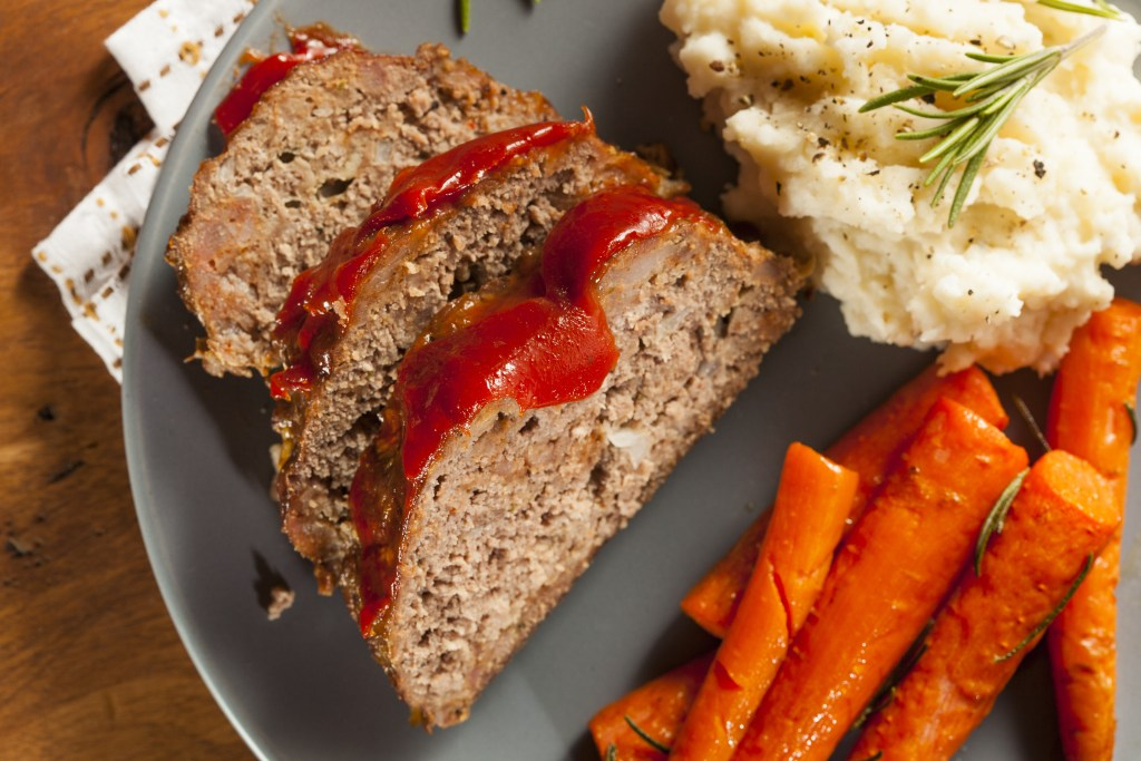 Homemade Ground Turkey Meatloaf