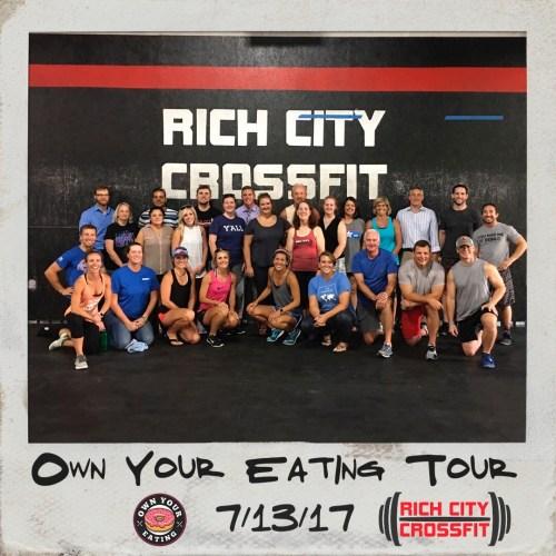 Rich City Crossfit tour photo