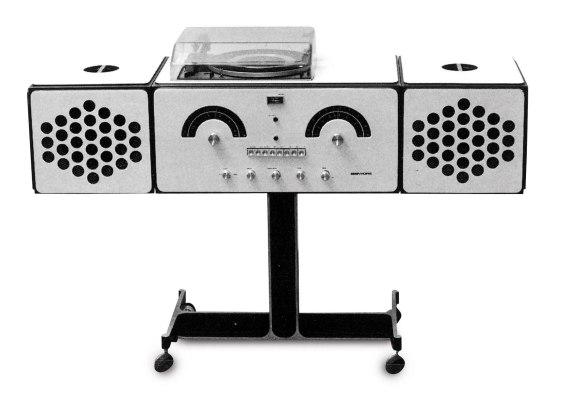 brionvega radiofonografo original