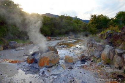 Rotorua: Der Thermal-Park mitten in der Stadt