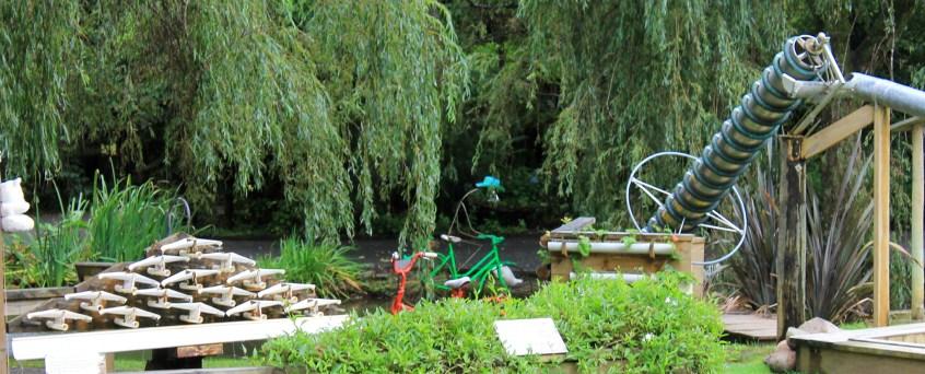 Coromandel, The 309 Road: Installationen im Waterwork Park