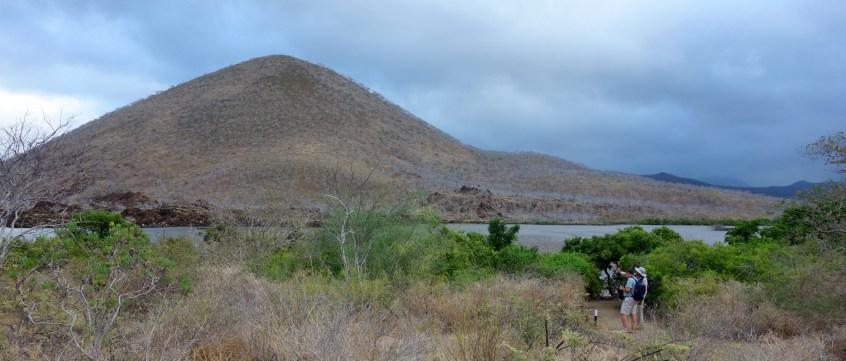 Galápagos, Floreana, Punto Cormorant: Auf dem Weg von der Green Bay zur Flamingo-Lagune