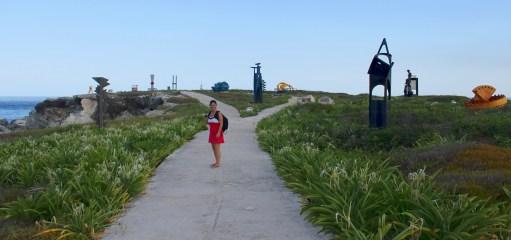 Mexiko, Isla Mujeres, Punta Sur: Im Skulpturenpfad