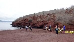 Galápagos, Rábida: Fertigmachen zum Schnorcheln