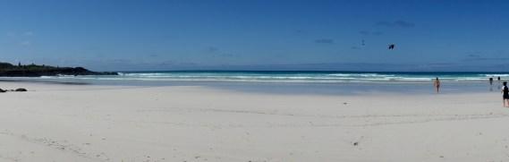 Galápagos, Santa Cruz, Tortuga Bay: Der ideale Tag und die ideale Lokation für ein erfrischendes Bad