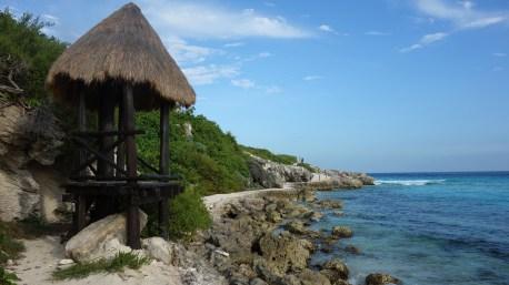 Mexiko, Isla Mujeres: Wanderweg um Punta Sur