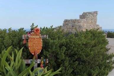 Mexiko, Isla Mujeres: Punta Sur: Maya Ruine Zxchel im Skulpturenpfad