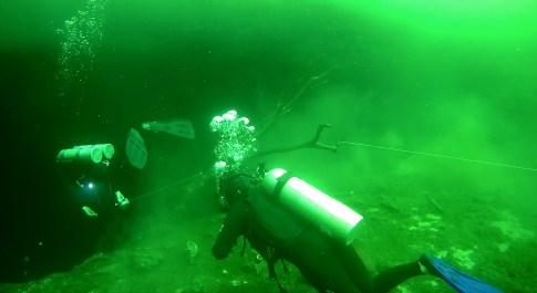 Mexiko, Tulum, Cenoten Tauchen: Abtauchen aus der Märchenwelt in die Tiefe der Cenote Car Wash