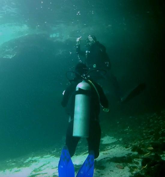 Mexiko, Tulum, Cenoten Tauchen, Casa Cenote: Alles klar zum Auftauchen!