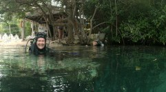Mexiko, Tulum, Cenoten Tauchen, Casa Cenote: So sieht Freude nach dem Tauchgang aus!