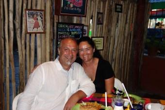 Mexiko, Laguna Bacalar: Segeln macht hungrig