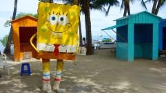 Belize, Caye Caulker: Auch SpongeBob Schwammkopf gefällt es hier!