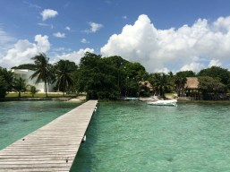 Mexiko, Laguna Bacalar: Wieder an Land