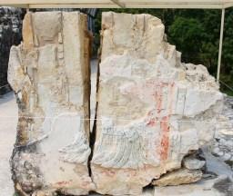 Palenque: Relief aus dem Osthof des El Palacio