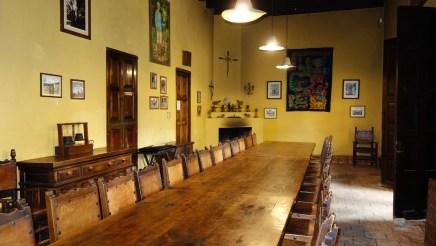 San Cristobal, Na Bolom Museum: Der Speisesaal bietet reichlich Platz für Familie, Freunde und Gäste