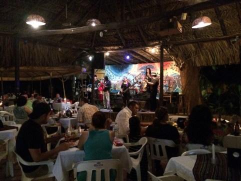 Palenque, El-Panchan: Abendliche Show in Don Mucho's Restaurant