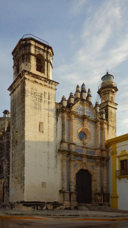 Campeche: Ex-Templo de San José, von der Bruderschaft San José 1649 errichtet, 1735 von den Jesuiten abgerissen und neu erbaut