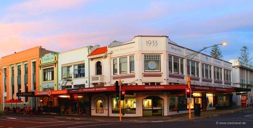 Napier, die Hauptstadt des Art-Deco