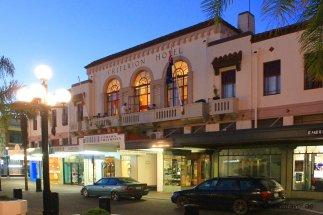 Napier, die Hauptstadt des Art-Deco: Früher Hotel, heute ein tolles Backpacker-Hostel mitten in der Stadt