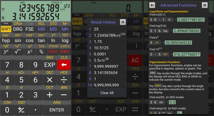 RealCalc app
