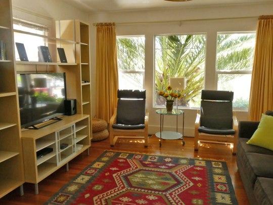 Living room, Apartment 1707, Oxford Property Management, Berkeley CA