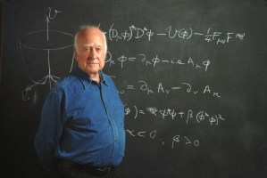 Higgs Wins That Nobel Prize