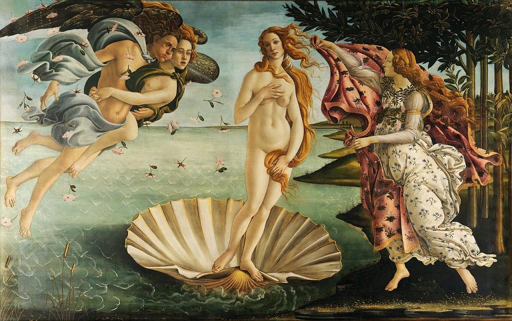 Botticelli's Birth of Venus.