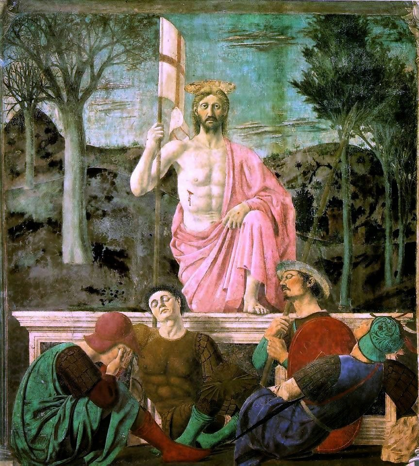 Resurrection. Piero della Francesca