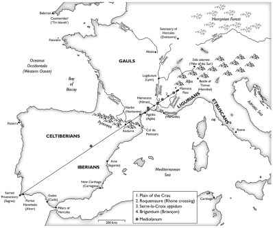 The Heraklean Way from The Ancient Paths by Graham Robb.