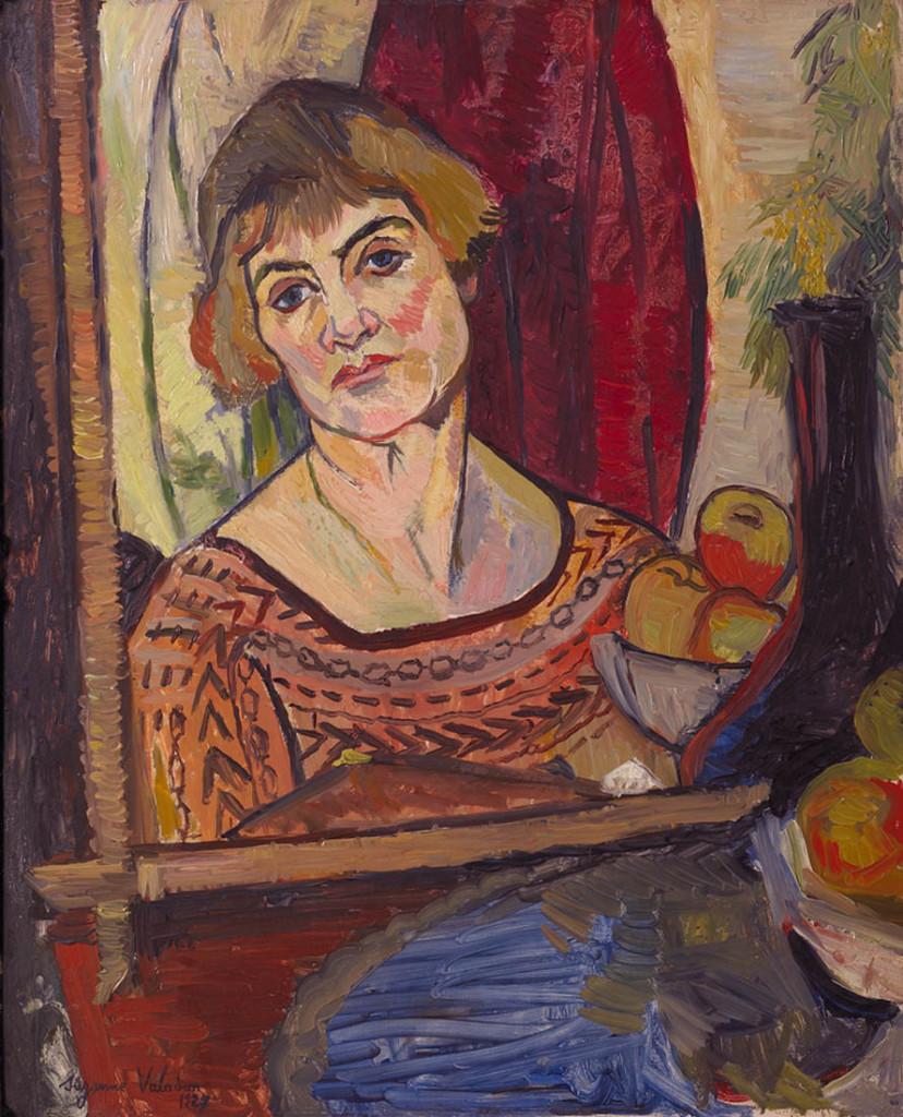 Self Portrait, Suzann Valadon, Libra