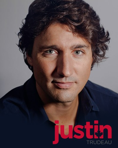 Truly blessed by the gods - Trudeau's movie star looks hide a sharp mind