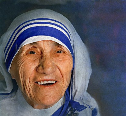 Mother Teresa, Virgo Sun, Sagittarius Rising.
