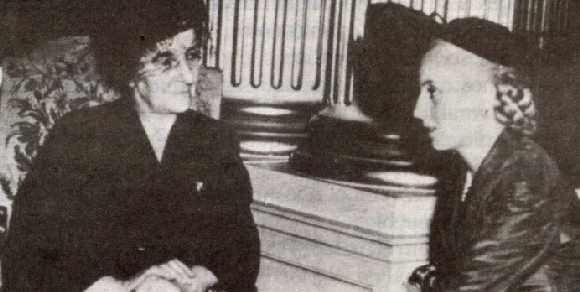 Evita and Golda Meir, a Venus in Gemini head to head.