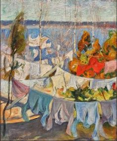 Pekka Halonnen, Drying Laundry
