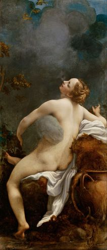 Jupiter and Io by Correggio. Painted when Neptune and the South Node were in Pisces (1531)