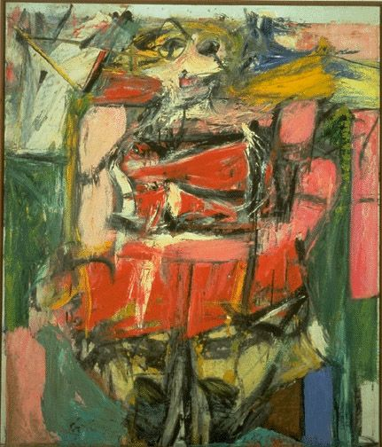 Woman VI, one of Willem De Kooning's most well-known works