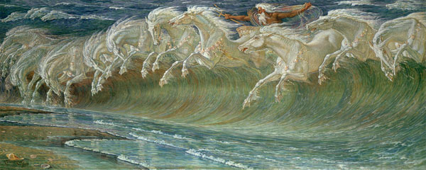The Horses of Neptune — Walter Crane