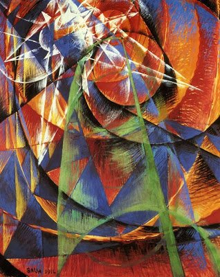 Mercury Passing In Front of the Sun by Giacomo Balla