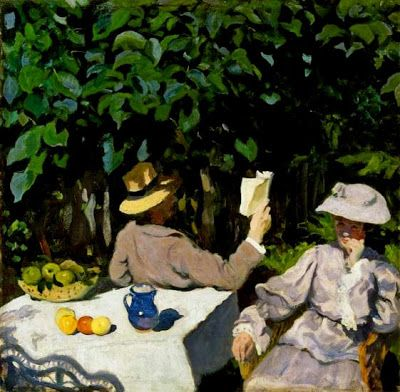 Summer Reading, Karoly Ferenczy
