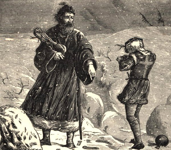 King Wenceslas and his page
