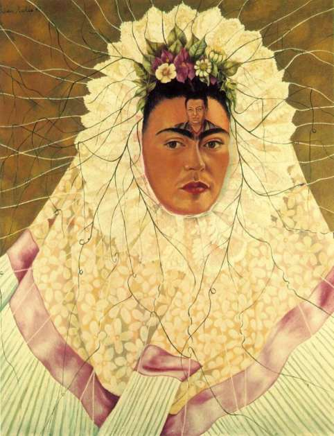 Self-portrait as Tehuana